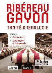Dernières parutions sur Récolte et vinification, Traité d'oenologie - Tome 2