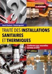 Dernières parutions dans Hors collection, Traité des installations sanitaires et thermiques