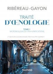 Dernières parutions sur Sciences de la Vie, Traité d'œnologie - Tome 1 - 7e éd.
