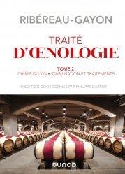 Dernières parutions sur Sciences de la Vie, Traité d'œnologie - Tome 2 - 7e éd.