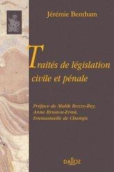 Dernières parutions dans bibliothèque dalloz, Traités de législation civile et pénale
