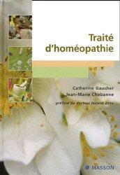 Nouvelle édition Traité d'homéopathie