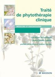Souvent acheté avec Aromathérapie pour les soignants, le Traité de phytothérapie clinique