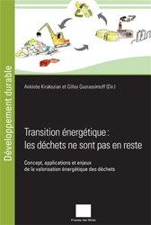 Souvent acheté avec L'hydrogène décarboné, le Transition energetique