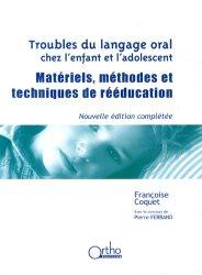Dernières parutions dans , Troubles du langage oral chez l'enfant et l'adolescent