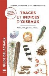 Dernières parutions sur Ornithologie, Traces et indices d'oiseaux