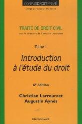 Dernières parutions dans Corpus Droit Privé, Traité de droit civil. Tome 1, Introduction à l'étude du droit