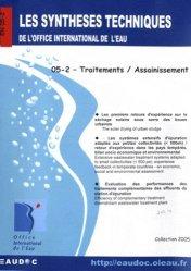 Dernières parutions sur Assainissement, Traitements / Assainissement