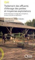 Souvent acheté avec Jachères, le Traitement des effluents d'élevage des petites et moyennes exploitations