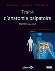 Souvent acheté avec Traité d'anatomie palpatoire, le Traité d'anatomie palpatoire