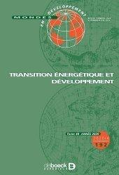 Dernières parutions sur Énergies, Transition énergétique et développement