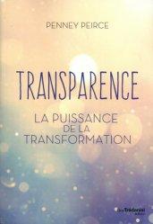 Dernières parutions sur Connaissance et affirmation de soi, Transparence