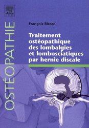 Dernières parutions dans Ostéopathie, Traitement ostéopathique des lombalgies et lombosciatiques par hernie discale