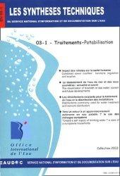 Dernières parutions dans Les Synthèses techniques de l'office international de l'eau, Traitements - Potabilisation