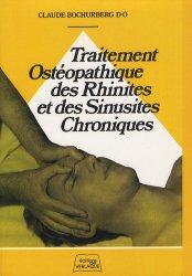 Souvent acheté avec Traité pratique d'ostéopathie crânienne, le Traitement ostéopathique des rhinites et sinusites chroniques