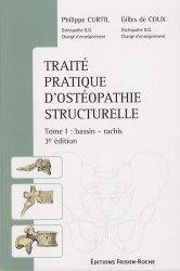 Traité pratique d'ostéopathie structurelle Tome 1 : bassin-rachis