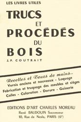 Souvent acheté avec Traité d'ébénisterie, le Trucs et procédés du bois