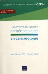 Dernières parutions sur Applications thérapeutiques, Traitements de support homéopathiques en cancérologie