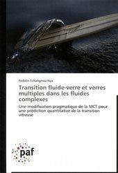 Dernières parutions sur Mécanique des fluides, Transition fluide-verre et verres multiples dans les fluides complexes