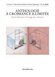 Dernières parutions sur Muséologie, Tremesis N° 2/2019 : Anthologie à croissance illimitée. Précis littéraire à l'usage des visiteurs