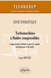 Dernières parutions dans Technosup, Turbomachines à fluides compressibles