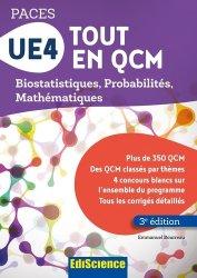 Dernières parutions dans PACES, UE4 Tout en QCM - PACES mathématique, biostatistique