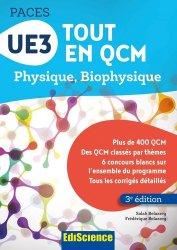 Souvent acheté avec Histologie UE2, le UE3 Tout en QCM - PACES