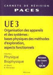 Souvent acheté avec UE1 Vol 2 - Biochimie, le UE 3 Vol 1 - Physique - Biophysique