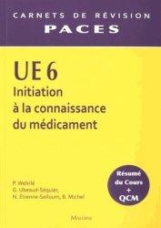 Souvent acheté avec Pharmacie galénique, le UE6 - Initiation à la connaissance du médicament