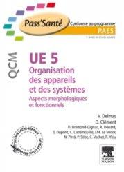 Dernières parutions dans Pass'Santé QCM, UE5 Organisation des appareils et des systèmes