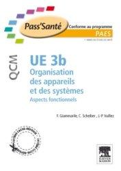 Souvent acheté avec Histologie, le UE 3b Organisation des appareils et des systèmes