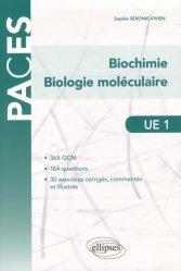 Dernières parutions sur UE1 Biochimie, UE1 - Biochimie - Biologie moléculaire