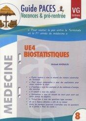Souvent acheté avec UE2 Embryologie, le UE4 Biostatistiques