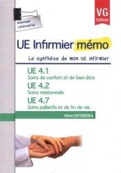Souvent acheté avec Maladies infectieuses, le UE 4.1 Soins de confort et de bien être - UE 4.2 Soins relationnels  - UE 4.7 Soins palliatifs et fin de vie