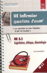 Dernières parutions sur UE 3.1 Raisonnement et démarche clinique infirmière, UE 3.1 Législation, éthique, déontologie