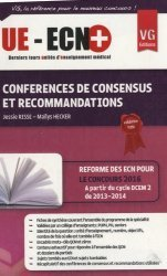 Dernières parutions sur Conférences de consensus, UE ECN+ Conférences de consensus et recommandations