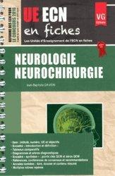 Souvent acheté avec Carnet des majors, le UE ECN en fiches Neurologie Neurochirurgie