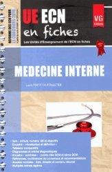 Souvent acheté avec UE ECN en fiches Ophtalmologie, le UE ECN en fiches Médecine interne