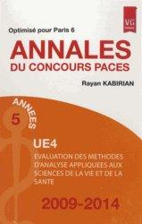 Dernières parutions sur UE 4, UE 4 Évaluation des méthodes d'analyse appliquées aux sciences de la vie et de la santé