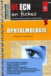 Souvent acheté avec UE ECN en fiches Cancérologie Onco-Hématologie, le UE ECN en fiches Ophtalmologie