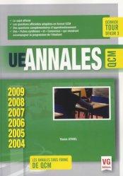 Souvent acheté avec Annales ECN 2010, 2011, 2012, le UE Annales ECN QCM 2004-2009