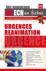 Dernières parutions dans , UE ECN en fiches Urgences Réanimation
