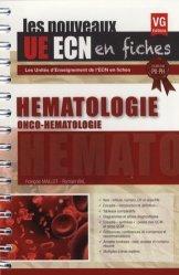 Souvent acheté avec Hématologie, le UE ECN en fiches Hématologie