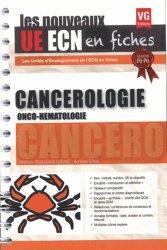 Dernières parutions dans UE ECN en fiches, UE ECN en fiches Cancérologie Onco-Hématologie