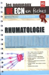 Dernières parutions dans UE ECN en fiches, UE ECN en fiches Rhumatologie
