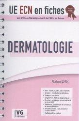 Souvent acheté avec UE ECN en fiches Gynécologie, obstétrique, le UE ECN en fiches Dermatologie