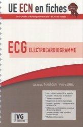 Dernières parutions dans UE ECN en fiches, UE ECN en fiches ECG Électrocardiogramme