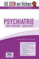 Dernières parutions sur ECN iECN DFASM DCEM, UE ECN en fiches Psychiatrie