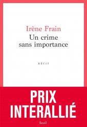 Dernières parutions dans Cadre rouge, UN CRIME SANS IMPORTANCE  |