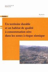 Dernières parutions dans Recherche, Un territoire durable et un habitat de qualité à consommation zéro dans les zones à risque sismique